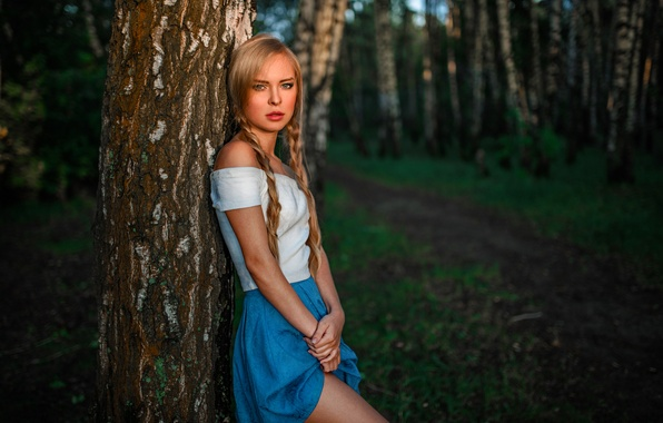 Picture Nature, Legs, Beauty, Side, View, Forest, Russian, Victoria Pichurova
