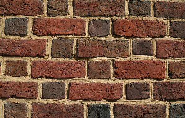 Picture rustic, bricks, pattern, wall of bricks