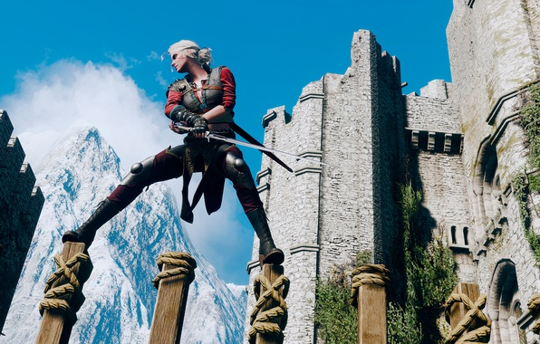Picture The Witcher, CRIS, The Witcher 3:Wild Hunt, Footwork