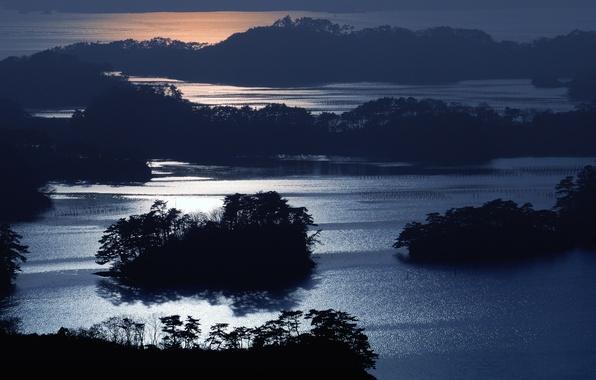 Picture night, Japan, japan, uramatsushima