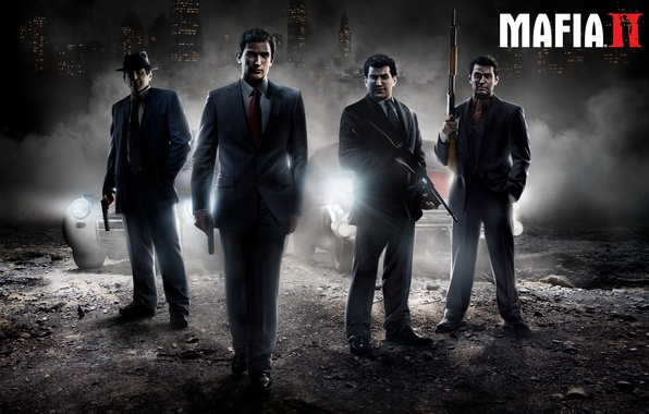 "Picture weapons, Mafia 2, Vito Scaletta, Edoardo ""Eddie"" Scarpa, Joe Barbaro, Henry Thomasino"