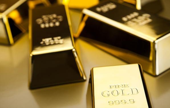 Picture metal, gold, bullion