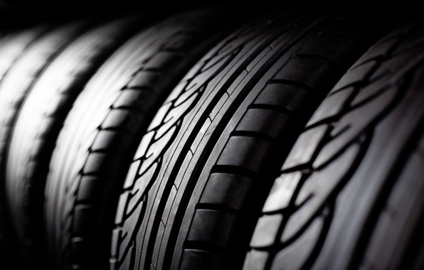Picture black, lines, tires, rubber