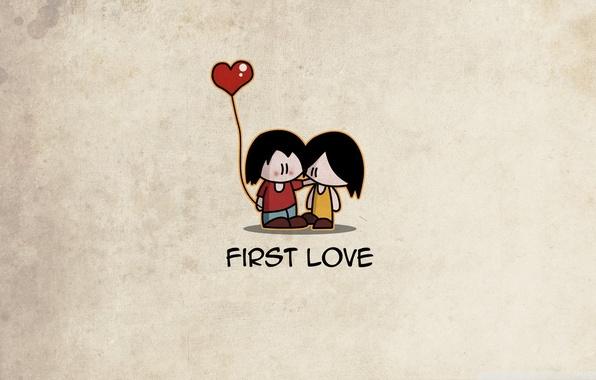 Picture love, people, girls, mood, minimalism, love, guys