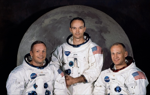 Picture space, memory, USA, NASA, history, the astronauts, history, Collins, Aldrin, Armstrong, remembrance