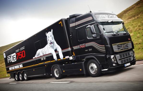 Picture Volvo, Truck, Wallpaper, Volvo, 750, Truck, Tractor, 750 HP, FH16