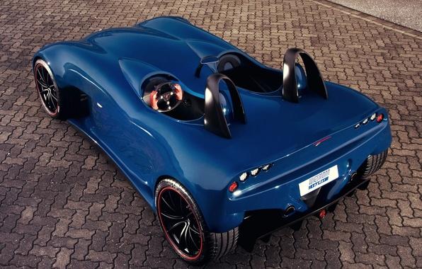 Picture auto, Concept, the concept, Wiesmann, Spyder, back