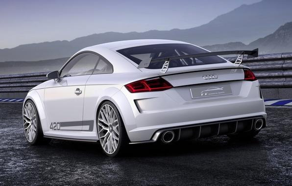 Picture Audi, sport, Audi, concept, the concept, sport, rear view, quattro, Quattro