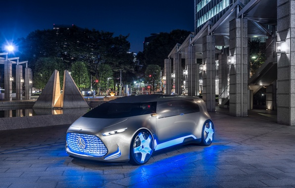 Picture the city, Mercedes-Benz, area, the concept, Tokyo, Vision, Mercedes