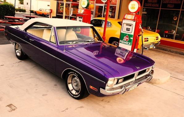Picture dream, dressing, Dodge, America, Dodge, USA, 1970, Plymouth, america, usa, Plymouth, dart, Duster, Darth, route …