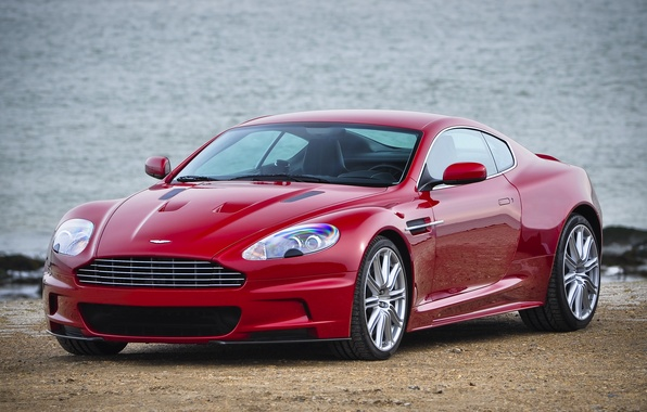Picture red, aston martin, dbs
