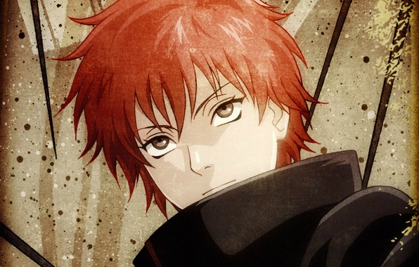 Wallpaper portrait naruto ninja akatsuki red hair - Portrait anime wallpaper ...