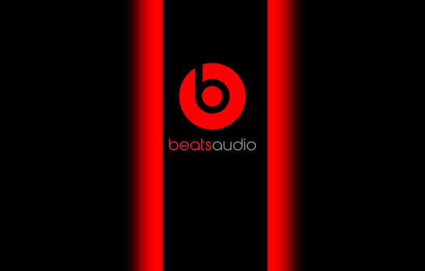 Photo Wallpaper Red Black Music Beats Audio Baetsaudio