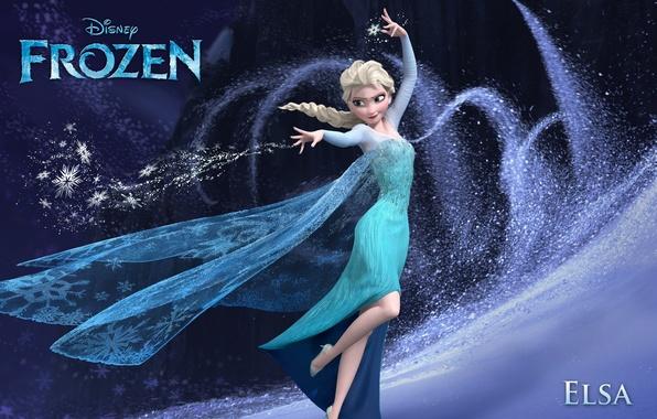 Picture Frozen, Walt Disney, 2013, Elsa, Cold Heart, Animation Studios