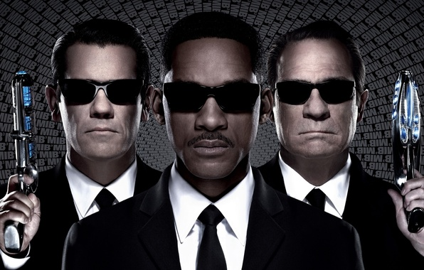 Picture Will Smith, Will Smith, Tommy Lee Jones, Agent K, Men in Black III, Agent J, ...