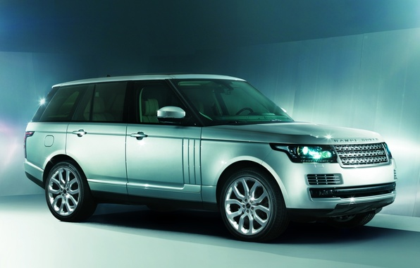 Picture background, jeep, SUV, Land Rover, Range Rover, the front, Land Rover, Range Rover, Autobiography