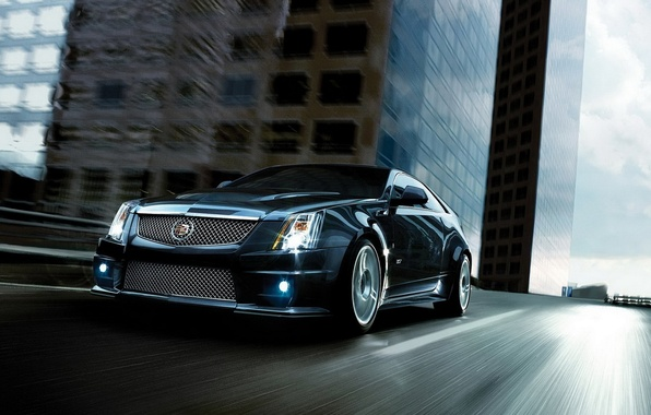 Picture road, home, Auto, Cadillac CTS-V