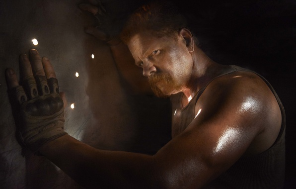 Picture look, The Walking Dead, The walking dead, Michael Cudlitz, Abraham