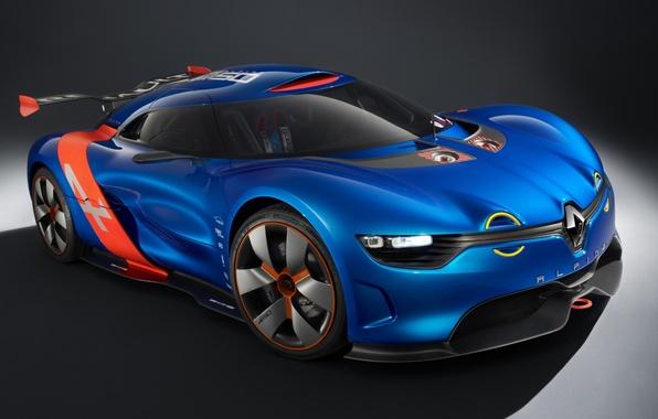 Picture Concept, the concept, Renault, twilight, drives, Reno, the front, Alpine, Alpine, A110-50