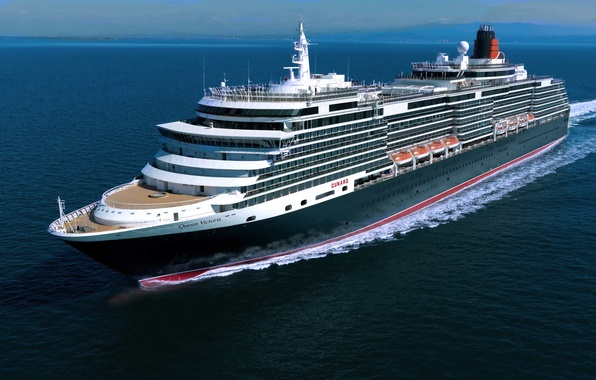 Picture Sea, Liner, cruise ship, On The Go, Queen Victoria
