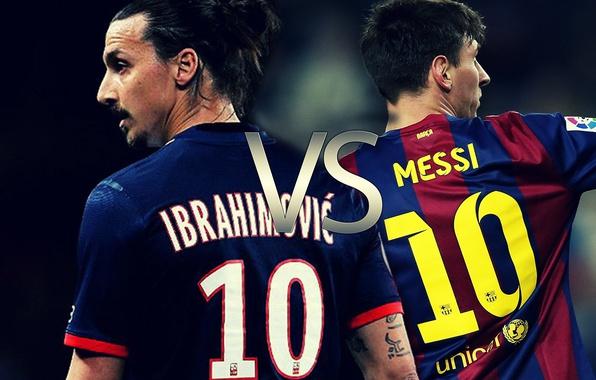 Photo Wallpaper Players Zlatan Ibrahimovic Paris Saint Germain Sport