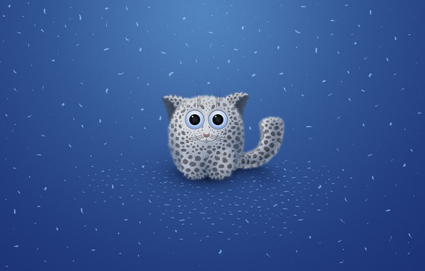 Picture eyes, blue, being, spot, leopard, children