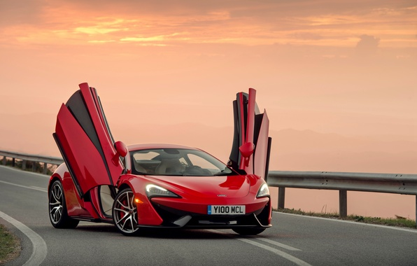 Picture sunset, McLaren, the evening, supercar, McLaren, 570S