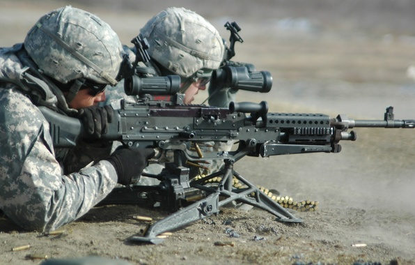 Picture weapons, shooting, Soldiers, equipment