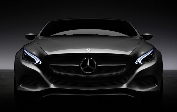 Picture lights, Mercedes, dark, tone