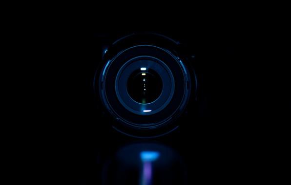 Picture macro, darkness, photo, the camera, lens, macro