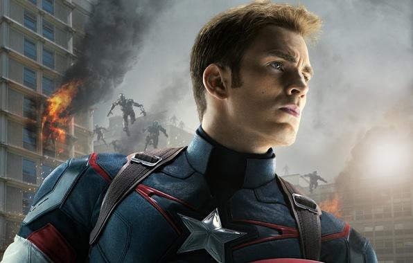 Picture fiction, costume, superhero, comic, Captain America, Chris Evans, Chris Evans, Steve Rogers, Avengers: Age of …