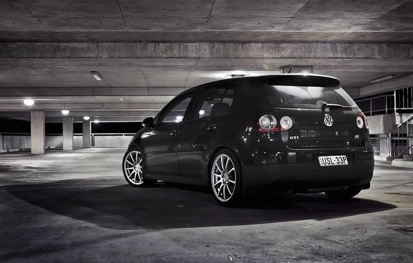 Photo Wallpaper HD Parking City Garage Gti Golf Cars
