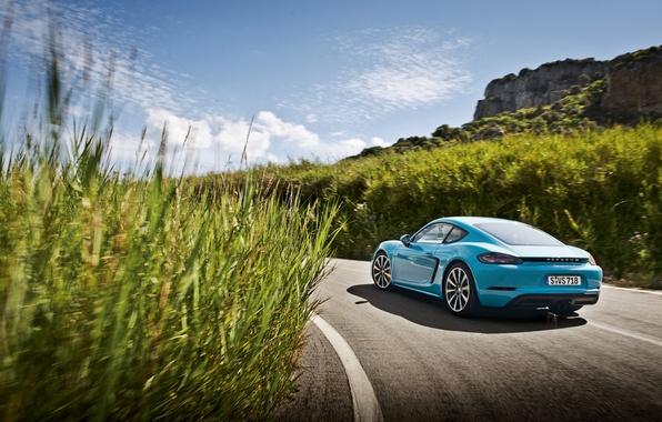 Picture coupe, Porsche, Cayman, Porsche, Caiman, 718
