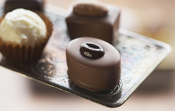 Picture macro, food, chocolate, focus, candy, cream, dessert, food, 1920x1200, macro, sweet, focus, chocolate, sweet, cream, …