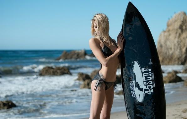 Picture girl, sport, Board