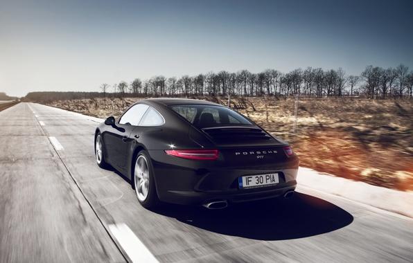 Picture road, machine, auto, speed, 911, Porche, GT3