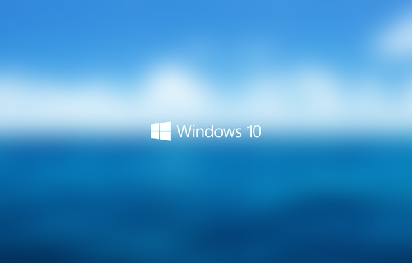 Photo wallpaper Background, blue, Logo, white, Start, blur, Hi-Tech, water, Macro, blue, the sky, Windows