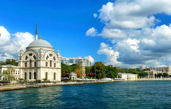 Picture landscape, nature, city, city, building, panorama, landscape, nature, Istanbul, Turkey, panorama, Istanbul, Turkey, buildings, Muslims, …