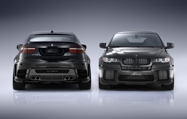 Picture black, car, tuning, bmw x6, CLA X650 M