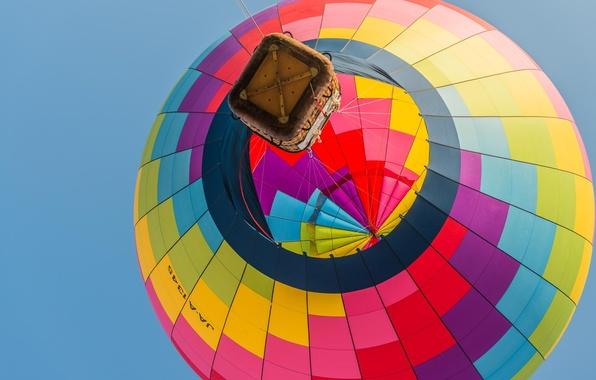 Picture the sky, flight, balloon, basket, sport