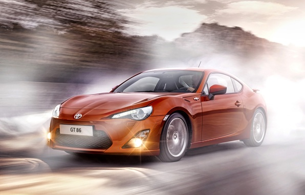 Picture the concept, toyota, gt 86