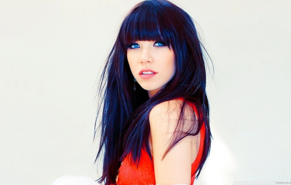 Picture look, brunette, singer, beautiful, blue eyes, woman, beautiful, pretty, sweet, brunette, cute, Carly Rae Jepsen, …