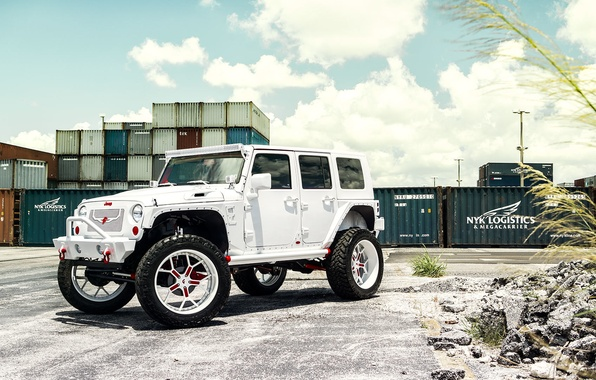 Picture car, tuning, SUV, Miami, Jeep Wrangler, Automotive Photography, Andrew Link