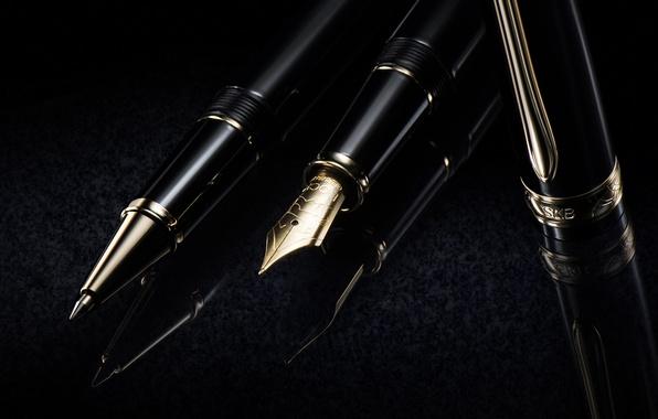Picture macro, pen, handle