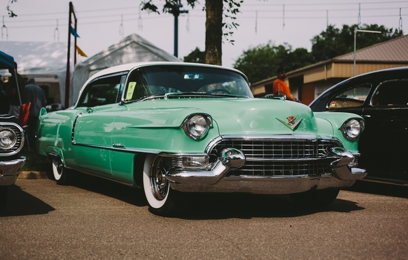 Picture retro, Cadillac, classic, the front, Series 62