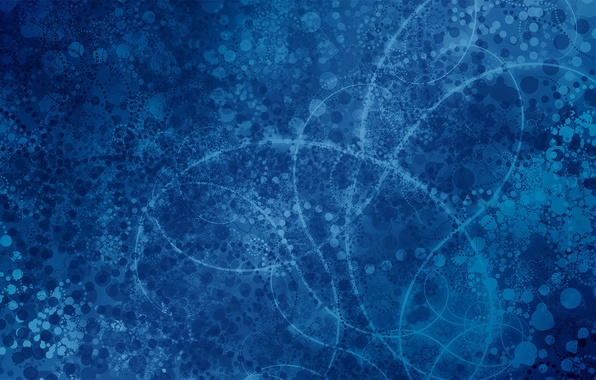 Picture blue, abstraction, background