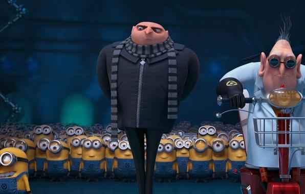 Picture Minions, Minions, Despicable Me 2, Gru, Despicable Me 2, Dr. Nefario