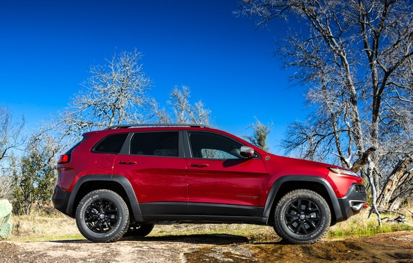 Picture auto, jeep, side view, Jeep, Cherokee, Trailhawk