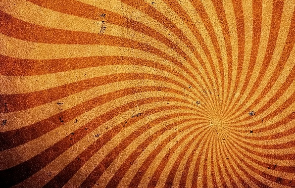 Picture wave, rays, yellow, strip, background, texture, red, brown
