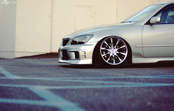 Picture tuning, photographer, lexus, disk, Lexus, stance, IS300, key chain